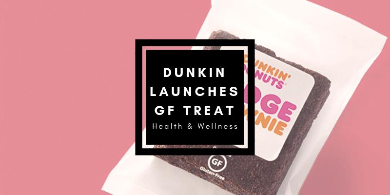 Dunkin Donuts NEW Gluten Free Brownie Treat