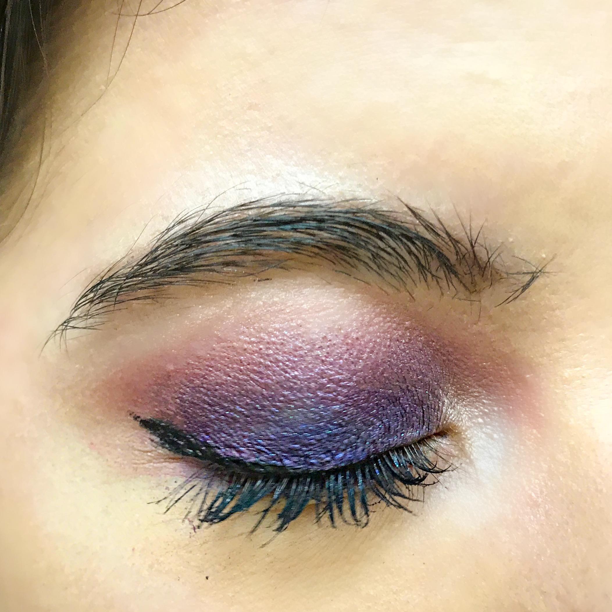 Natasha Denona Mini Lila Palette Application