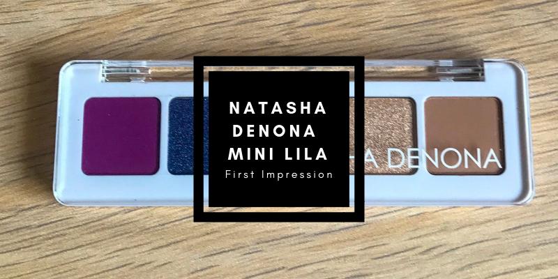 Natasha Denona Mini Lila Palette First Impression