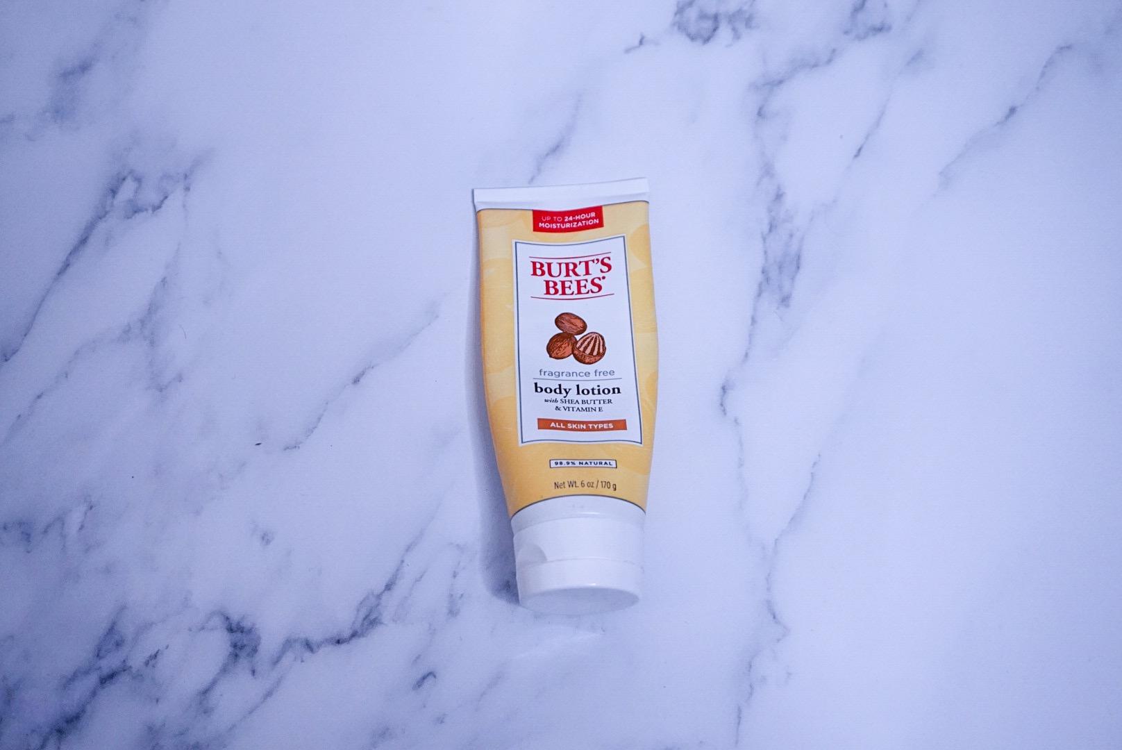 Best Drug Store Skin Care: Burt's Bees Body Lotion