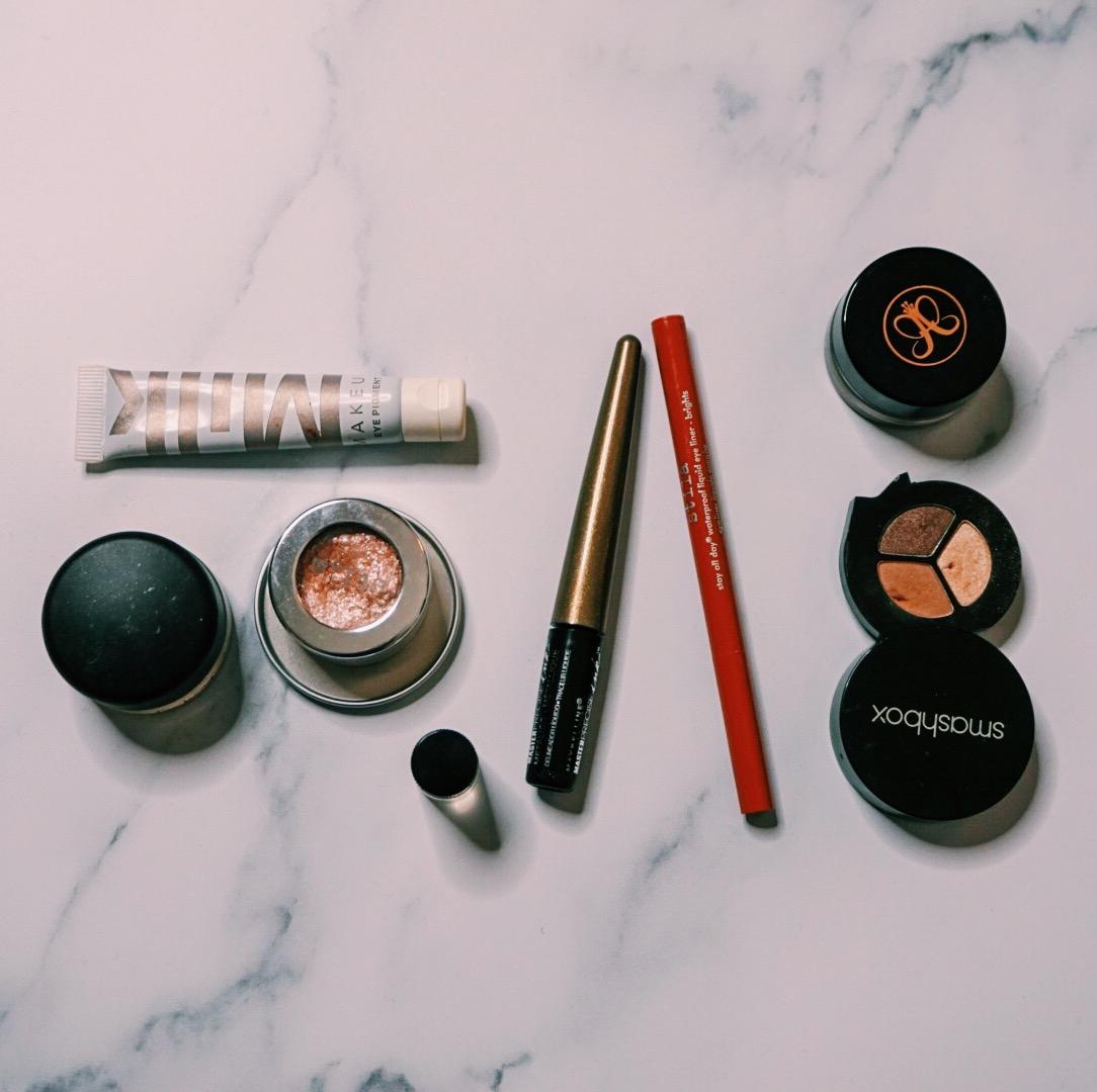 End of Year Beauty Declutter - Eyes