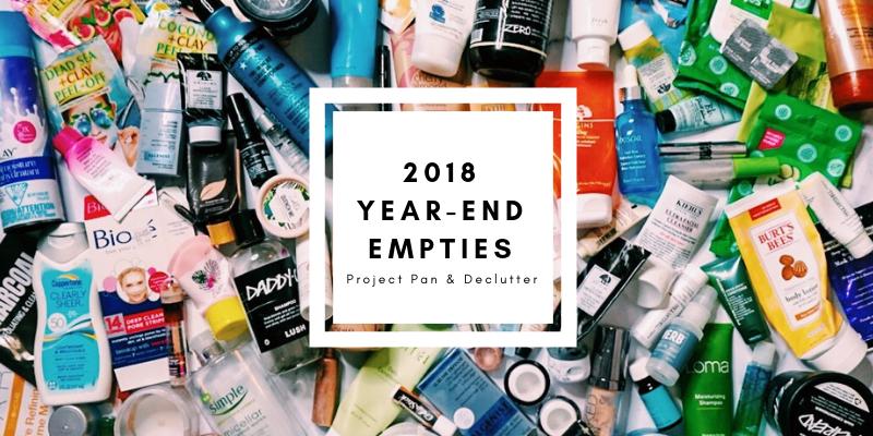 2018 Year-end Empties/Declutter