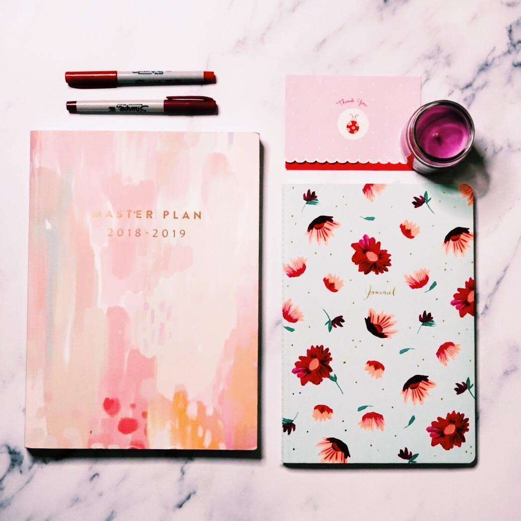 The Newbury Girl 2019 Blog Planning Flat Lay