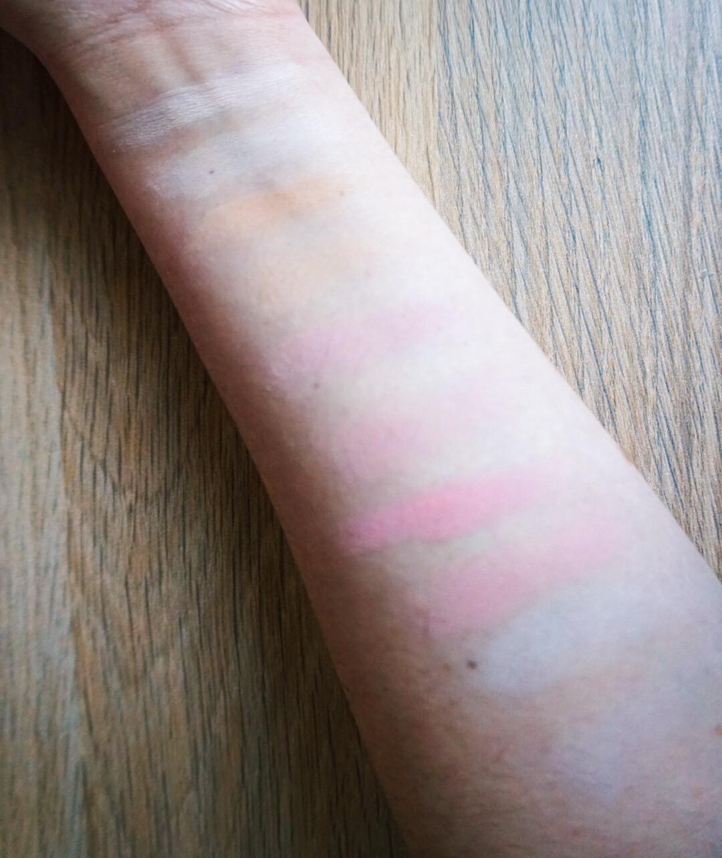 Viseart Grande Pro Volume I Eyeshadow Palette Review - Swatches (Column 1)