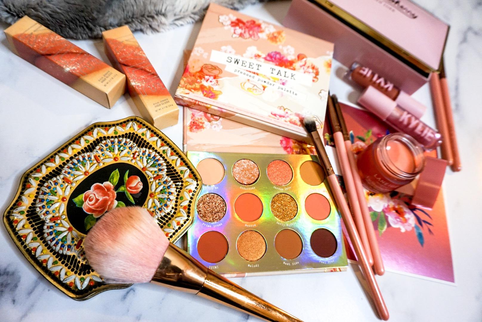ColourPop Sweet Talk Eyeshadow Palette Review Flat Lay