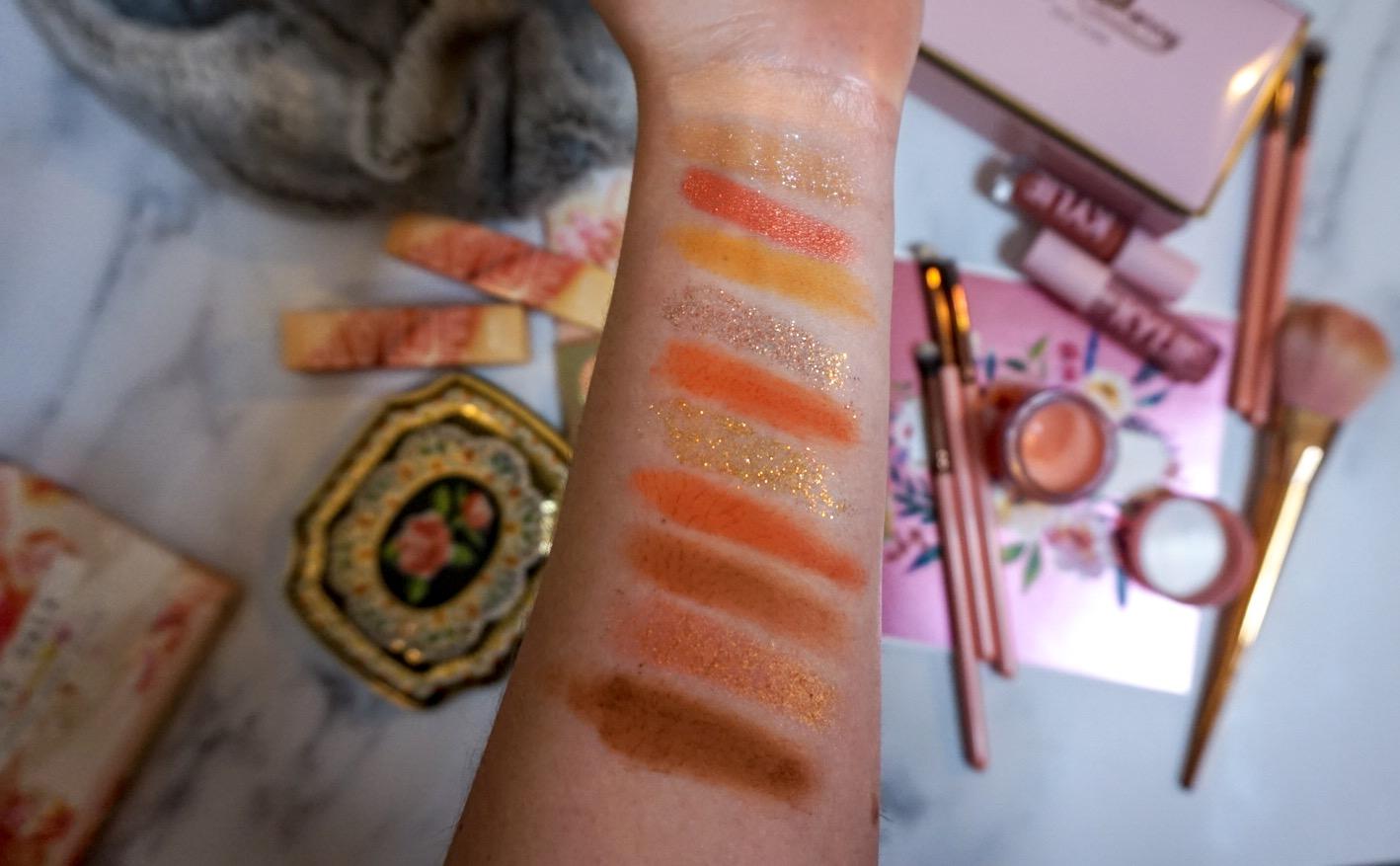 ColourPop Sweet Talk Eyeshadow Palette Review | ColourPop Sweet Talk Palette Swatches