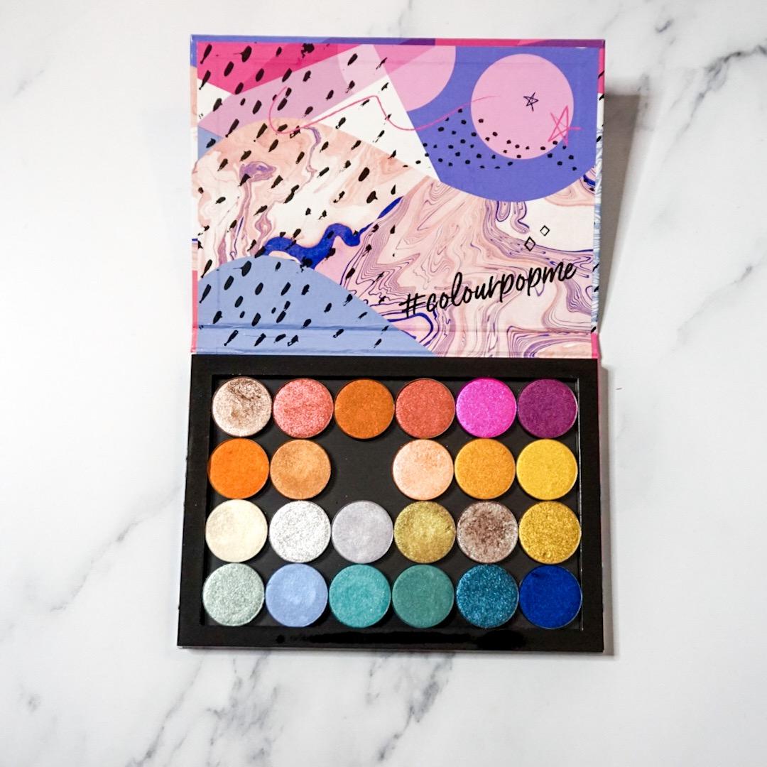 Most Used: Custom ColourPop Single Shadow Palette