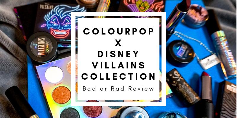 ColourPop x Disney Villains Collection Review