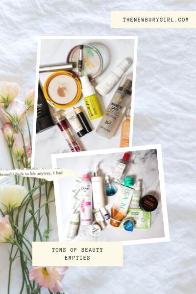 Summer 2019 Beauty Empties | Huge Empties Round Up