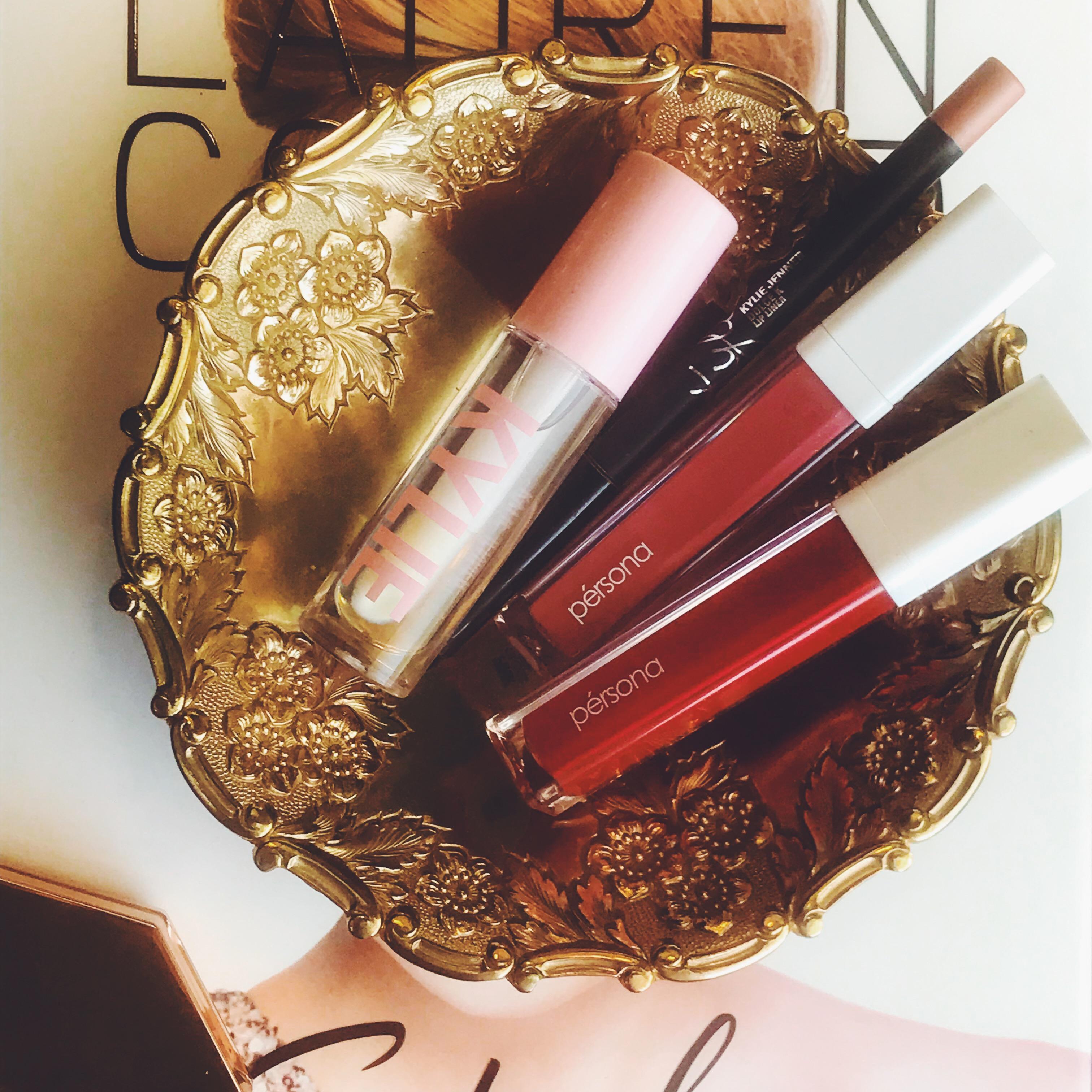 Not Your Basic Beauty Blogger Tag | Lip Gloss Flat Lay