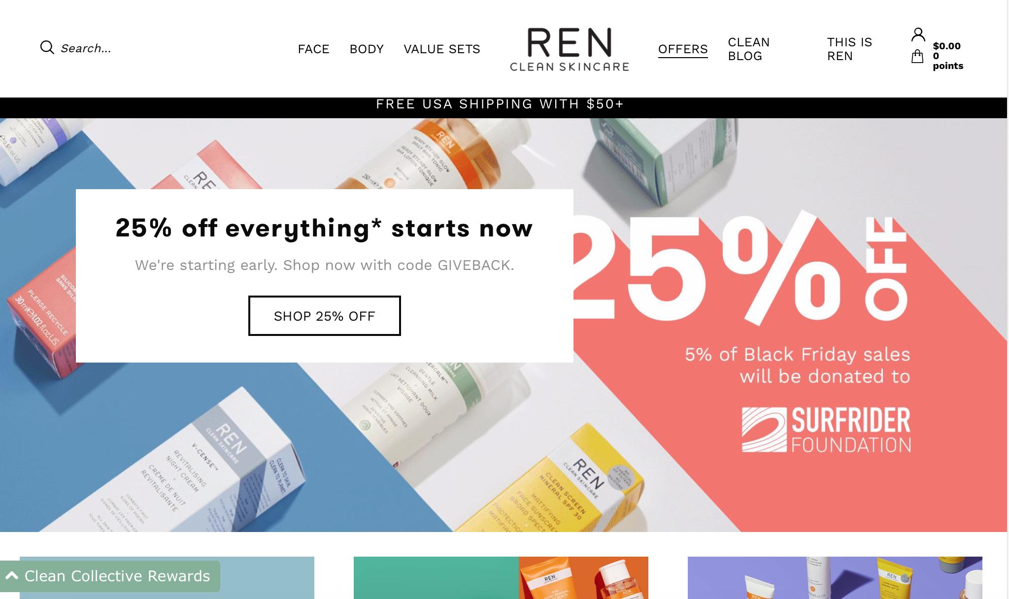 The Best Black Friday Deals for Beauty Lovers | Ren