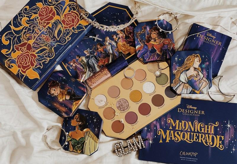 ColourPop x Disney Designer Collection Midnight Masquerade Palette Review