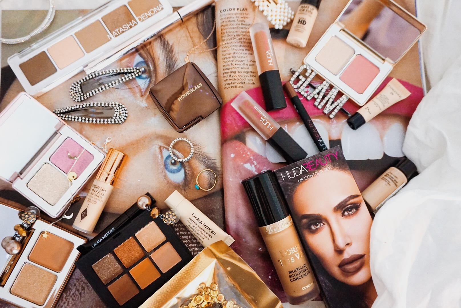 Massive Luxury Beauty Haul - Natasha Denona, Hourglass, NARS, Pat McGrath. Too Faced, Huda Beauty