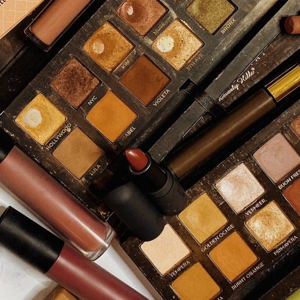 Huge Makeup & Skincare Declutter | 60+ Products Gone