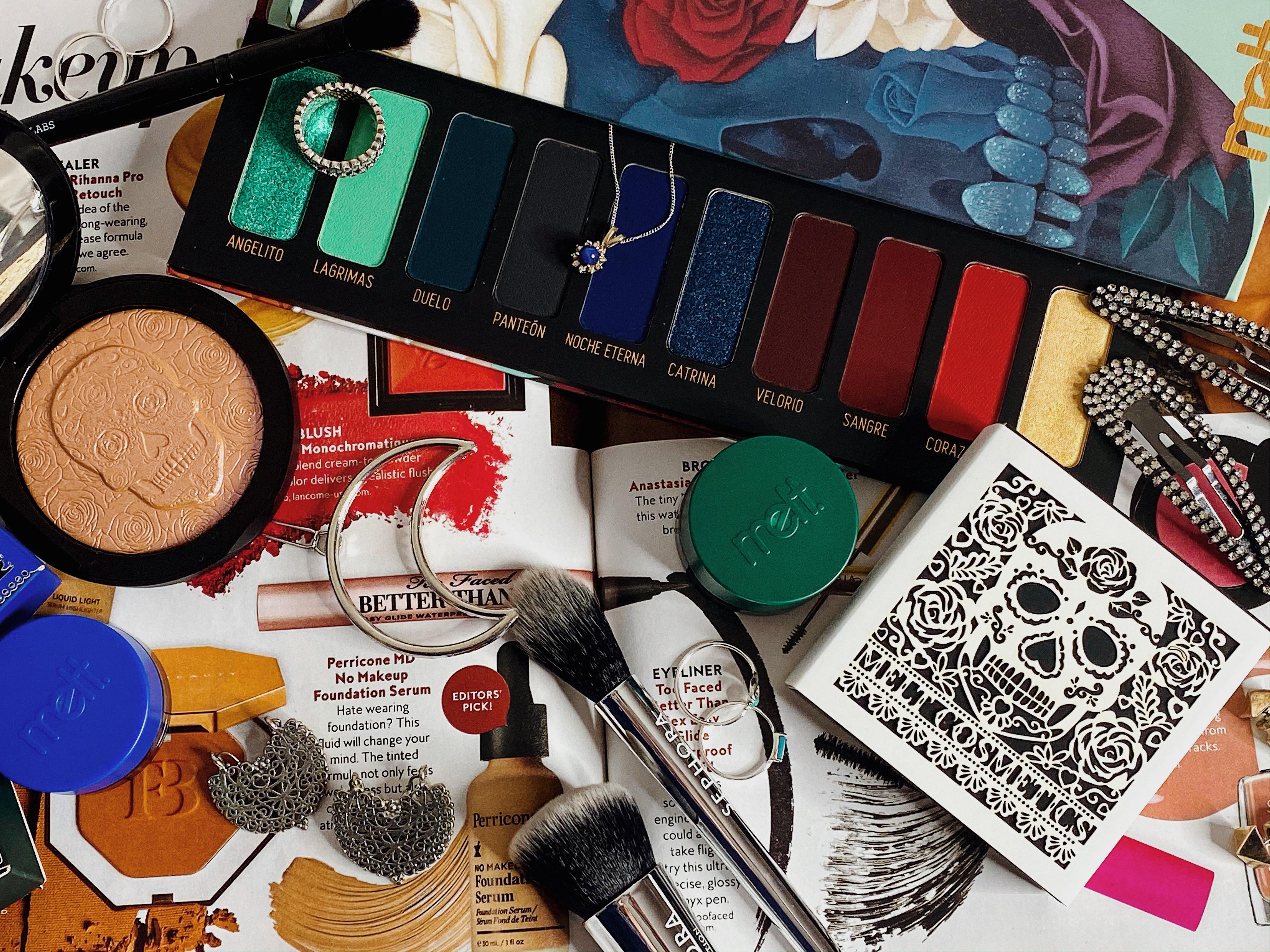 Yearlong Beauty No Buy Update #1 | Melt Amor Eterno Muerte Palette, Illuminacion Highlighter, Fortuna Gel Liner, Santos Gel Liner #5
