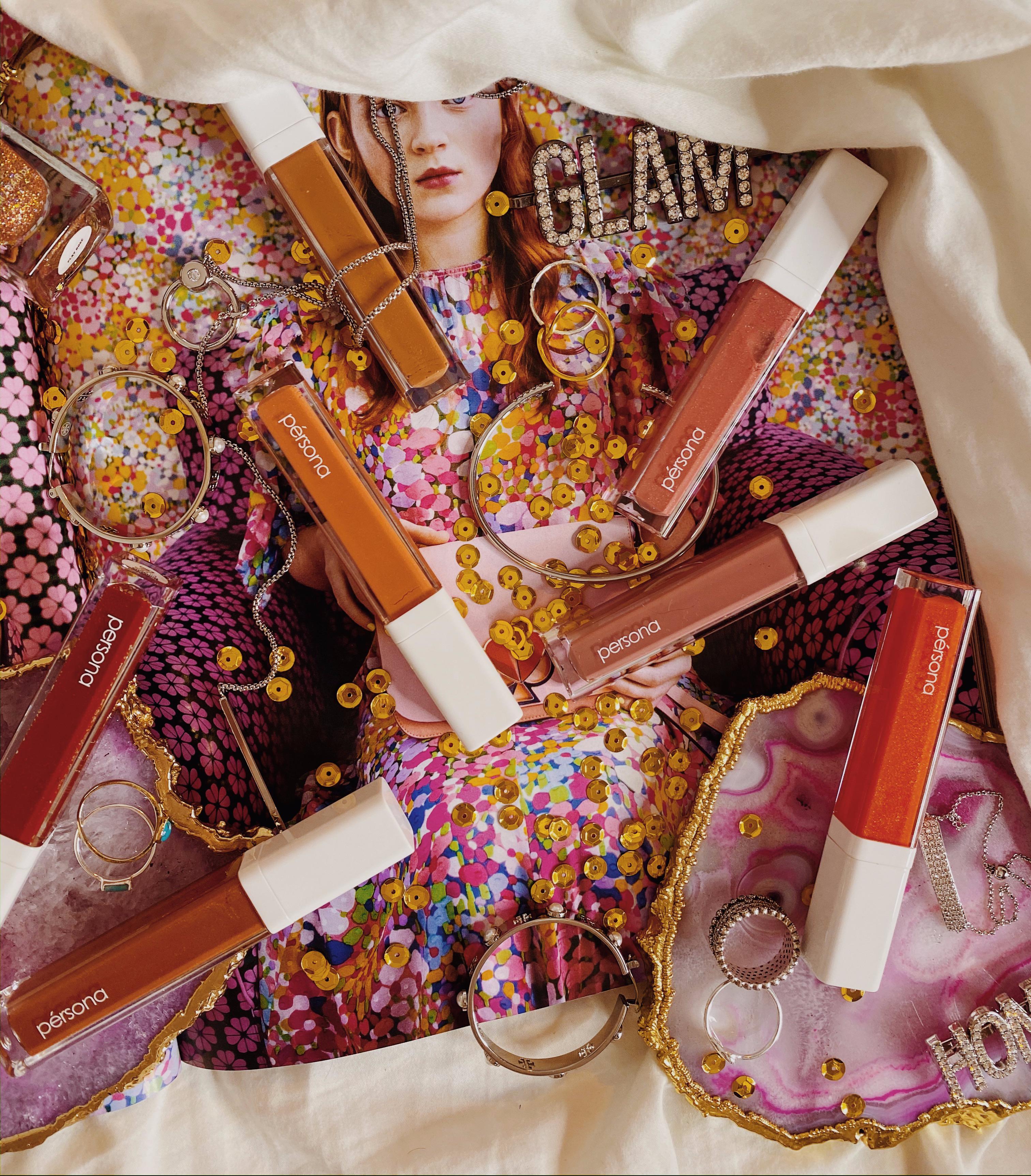 Lip Gloss Collection Ranking | Persona Cosmetics Season One Lip Gloss | Honey | Toffee | Peach | Pink | Coral | Shortcake | Hibiscus