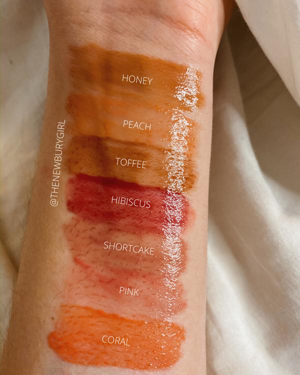 Lip Gloss Collection Ranking | Persona Cosmetics Season One Lip Gloss Swatches