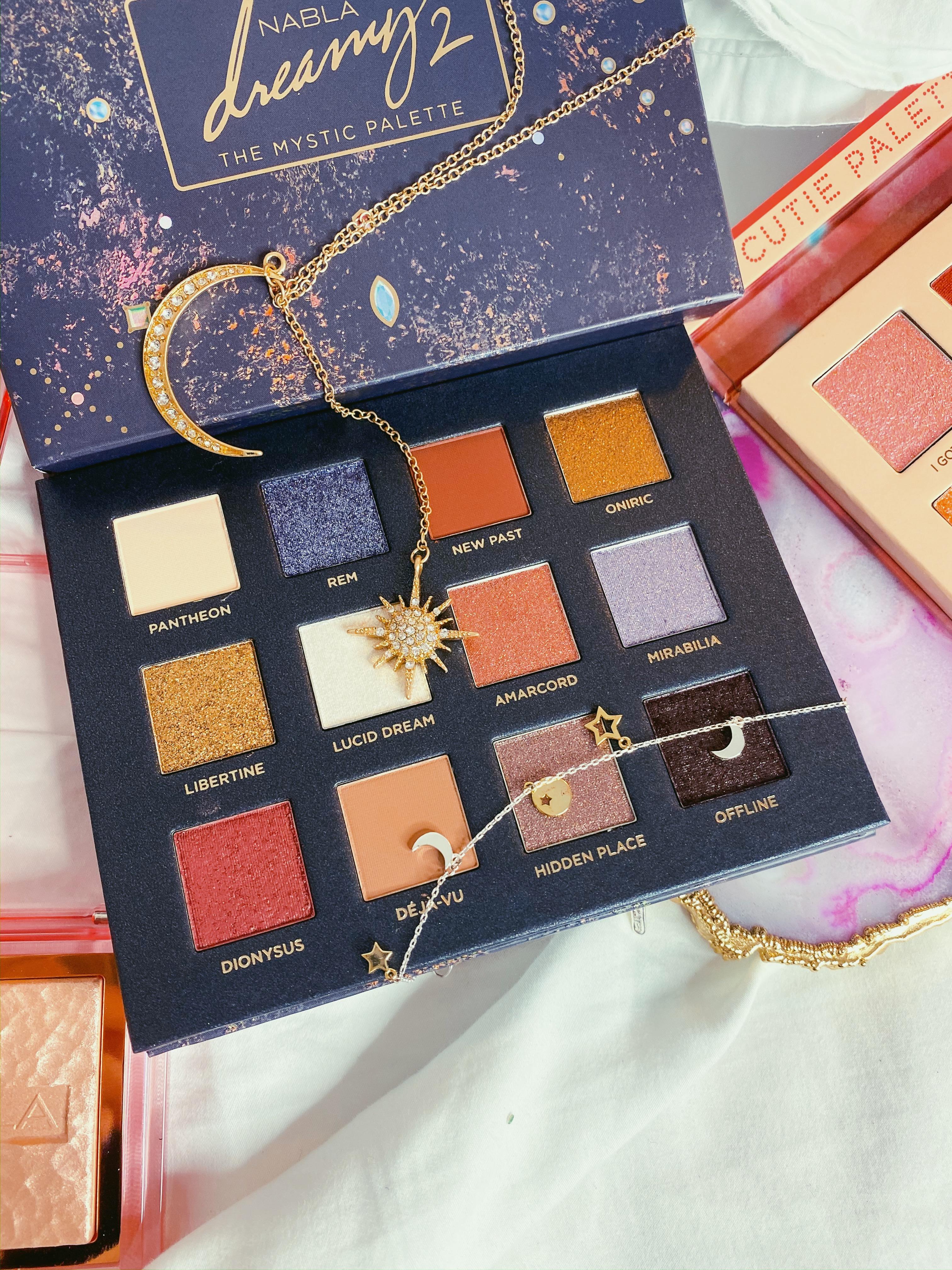 NABLA Dreamy 2 Palette Review | NABLA Dreamy 2 Palette Swatches | Italian Indie Beauty