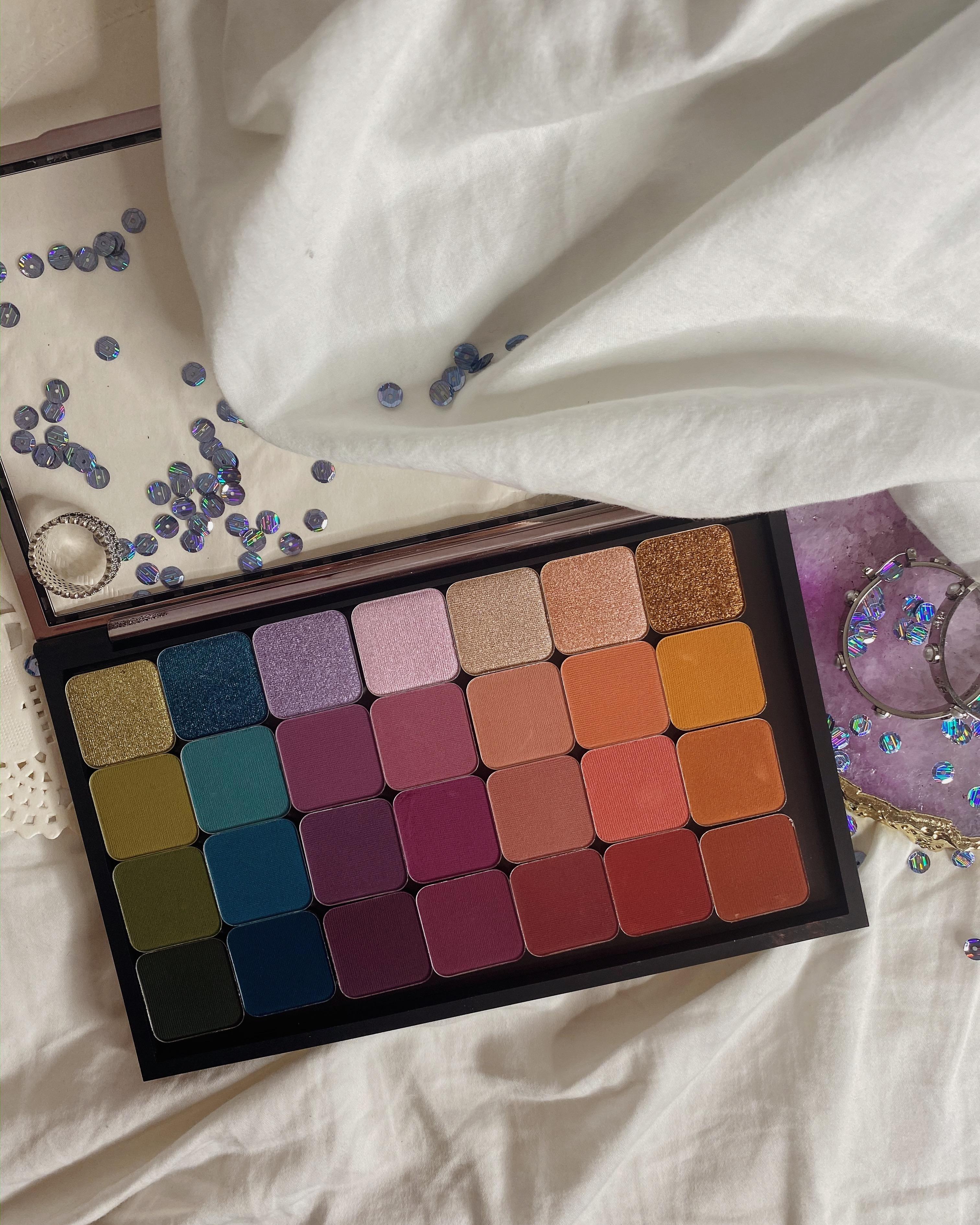 Yearlong 2020 Beauty Low Buy   Makeup Geek Color Matrix