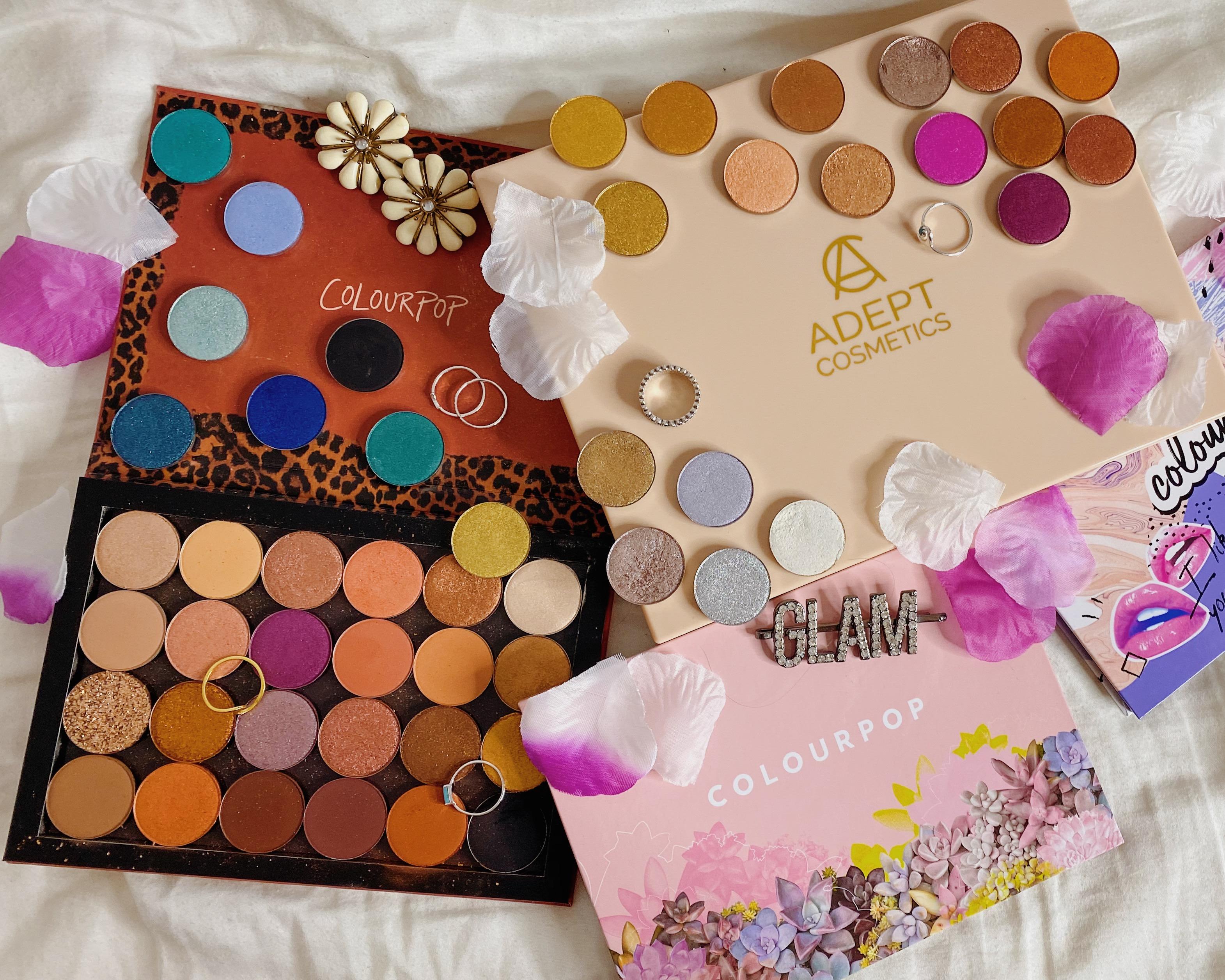 ColourPop Cosmetics Pressed Single Eyeshadow Collection Ranking | ColourPop You Should See Me in a Crown Bundle | ColourPop BYOP Bundle