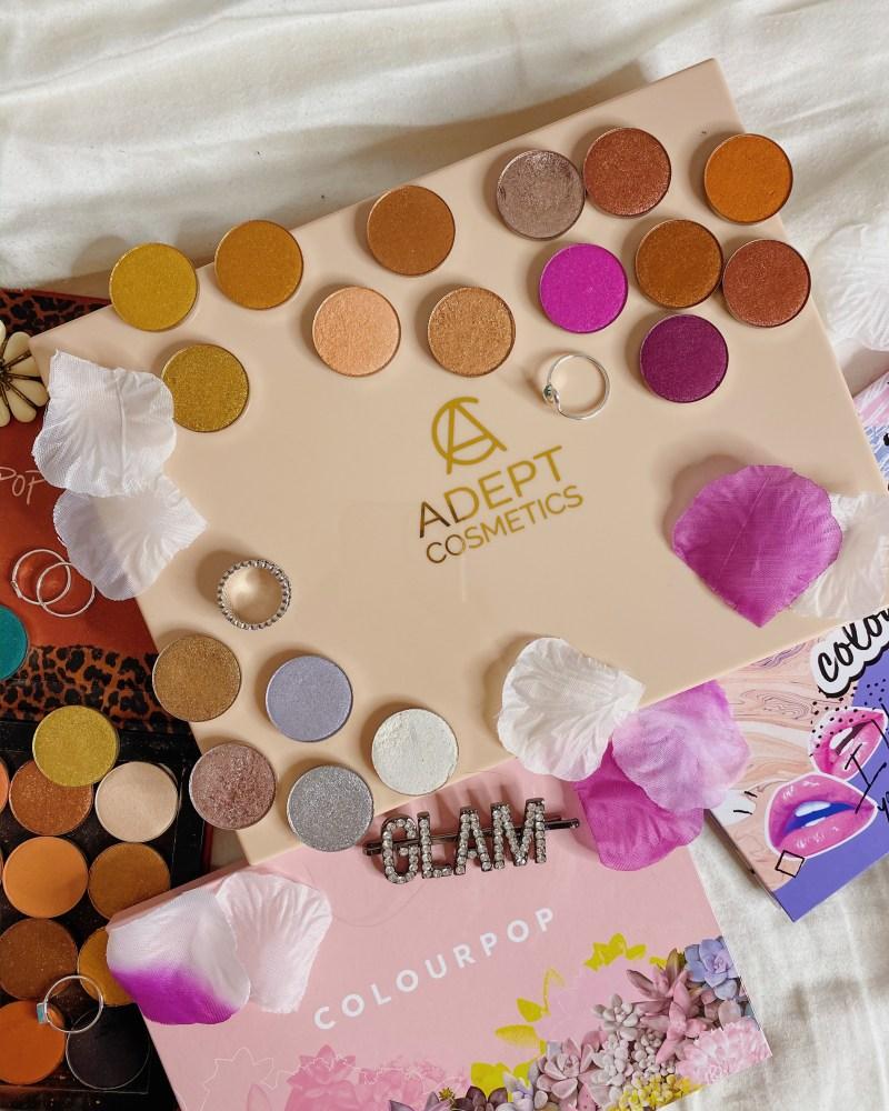 ColourPop Cosmetics Pressed Single Eyeshadow Collection Ranking