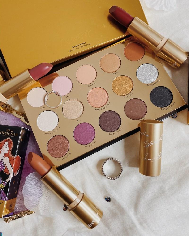 ColourPop Cosmetics x Disney Designer Collection Princess Premier Collection   It's a Princess Thing Palette