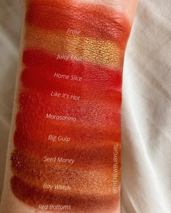 ColourPop Monochromatic Palette Collection Ranking | ColourPop Main Squeeze Palette Swatches