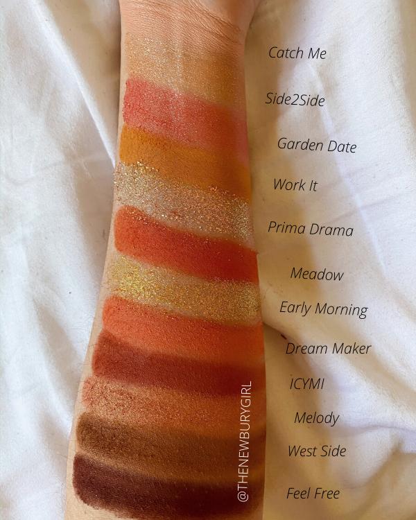 ColourPop Eyeshadow Palette Collection Ranking | ColourPop Sweet Talk Palette Swatches