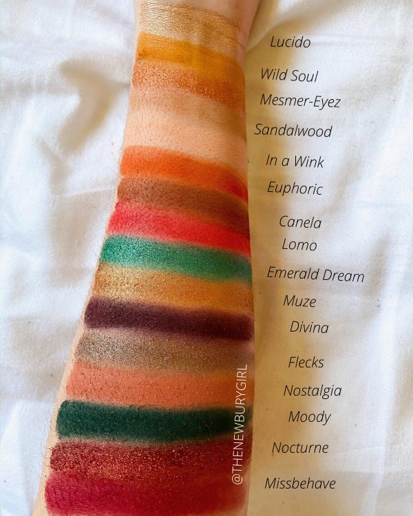 ColourPop Eyeshadow Palette Collection Ranking | ColourPop x iluvsarahii Through My Eyes Palette Swatches