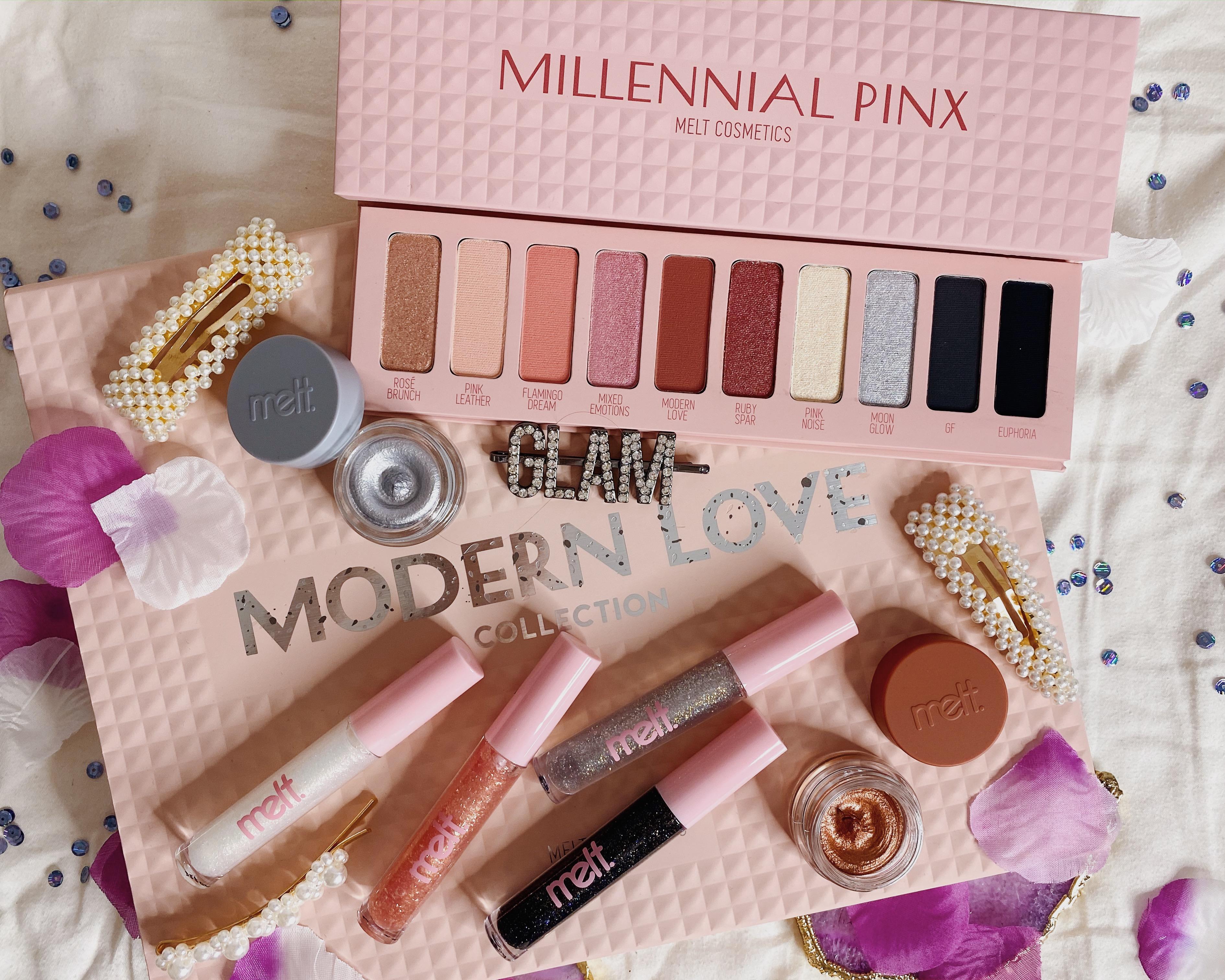 2020 Beauty Low Buy Update #1 | Melt Cosmetics Modern Love Collection | Melt Cosmetics Millennial Pinx Palette