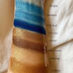 Melt Cosmetics Palette Ranking | Melt Cosmetics Blueprint Stack Swatches