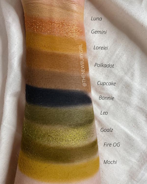 Melt Cosmetics Palette Ranking | Melt Cosmetics Gemini Palette Swatches | Melt Cosmetics Gemini Swatches