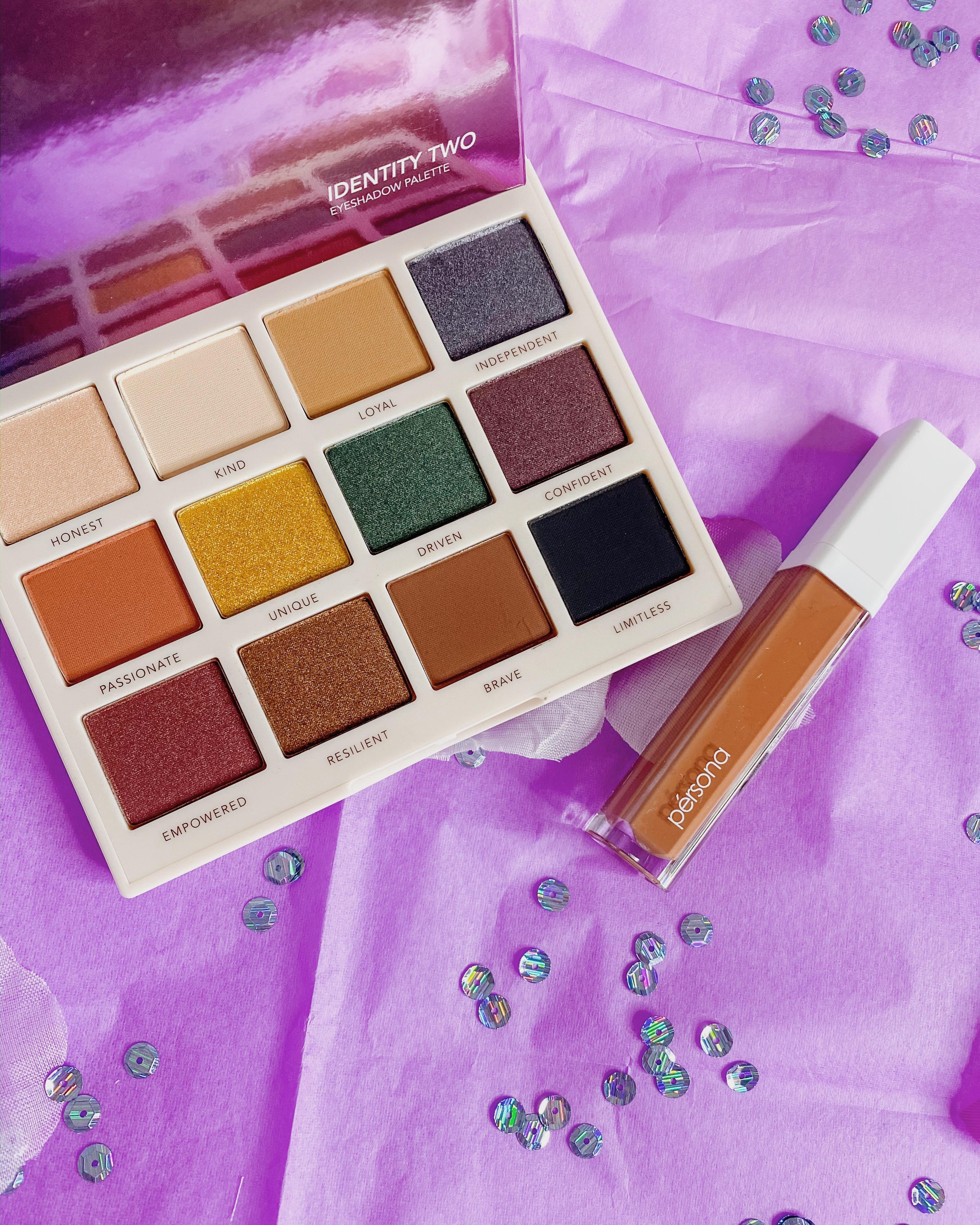 2020 Beauty Low Buy Update #1 | Persona Cosmetics Identity 2 Palette | Persona Cosmetics Season One Liquid Lipstick in OG