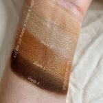 e.l.f. Bite Size Palette Review   e.l.f. Bite Size Palette in Cream & Sugar Swatches