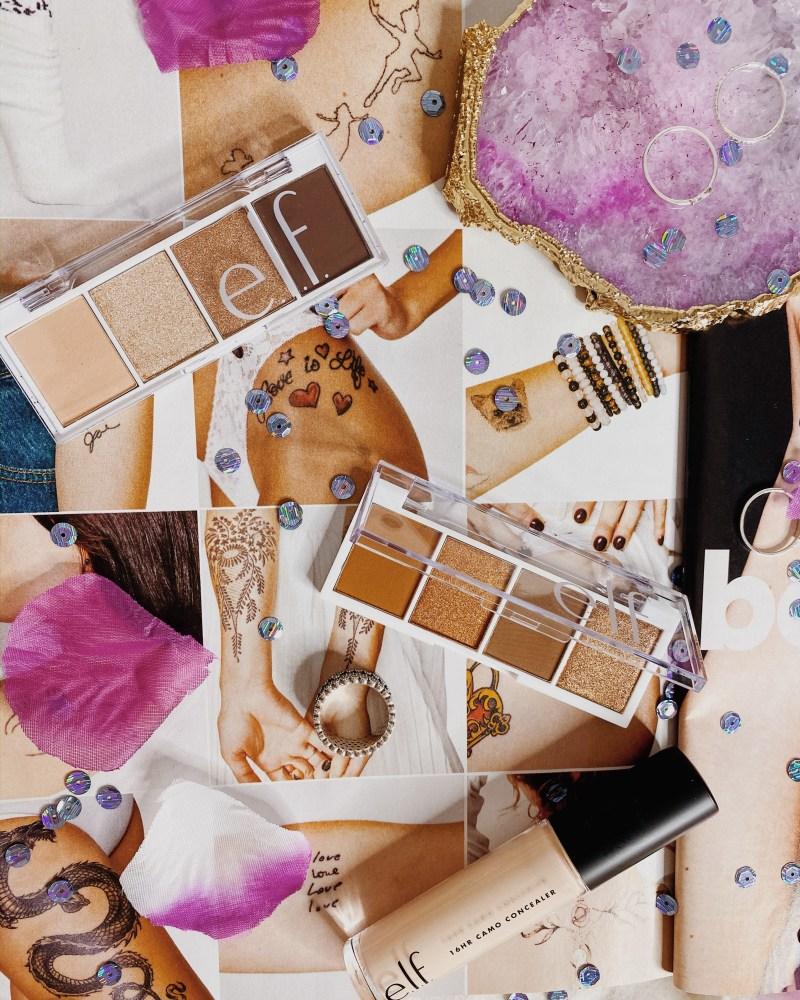 e.l.f. Bite Size Palette Swatches | e.l.f. Bite Size Palette Review | e.l.f. Bite Sized Palette Review | e.l.f. Pumpkin Spice Bite Size Palette Review | e.l.f. Cream & Sugar Bite Size Palette