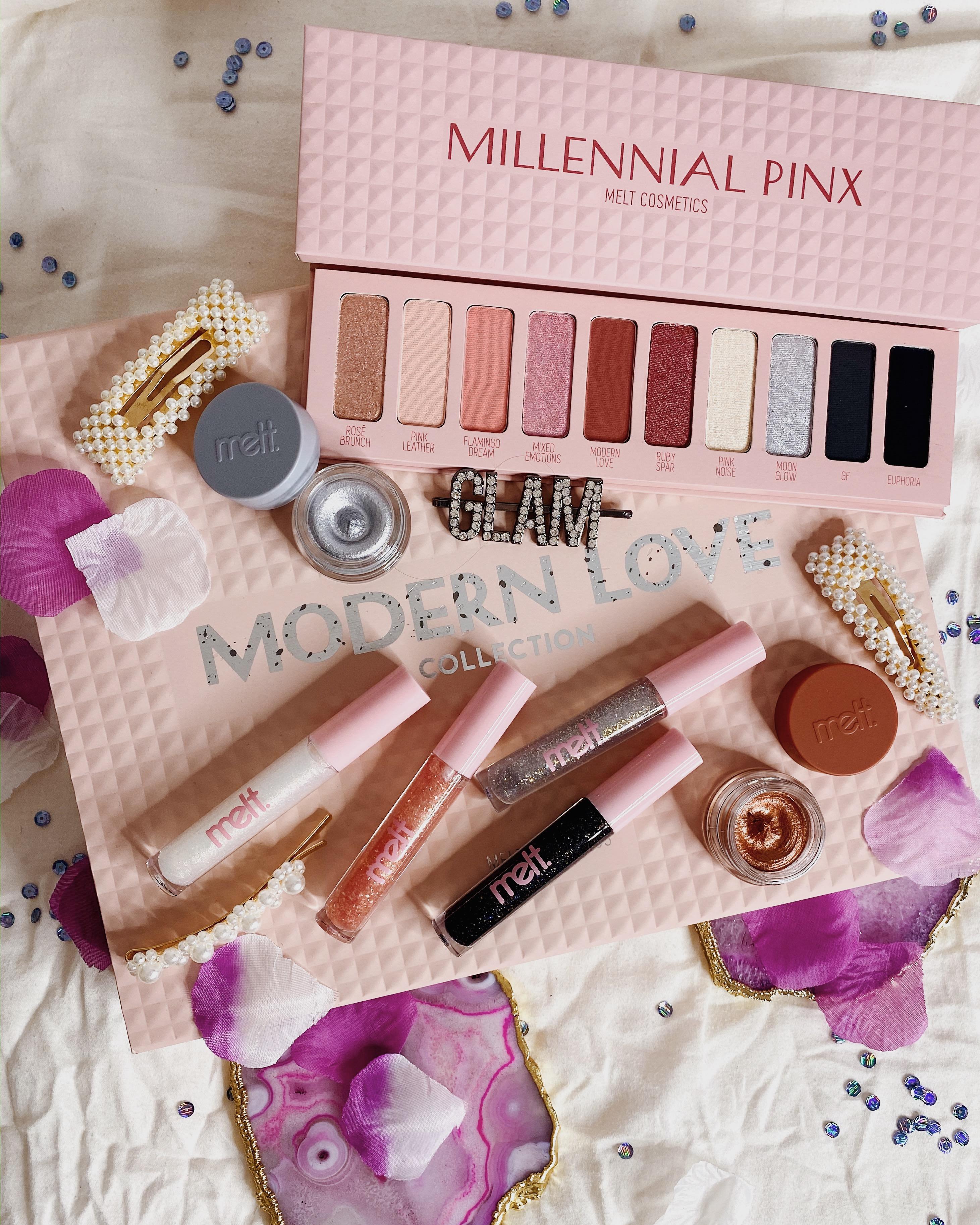 Melt Cosmetics Modern Love Collection | Melt Cosmetics Millennial Pinx Palette Review | Melt Cosmetics Millennial Pinx Palette Swatches | Melt Cosmetics Modern Love Review