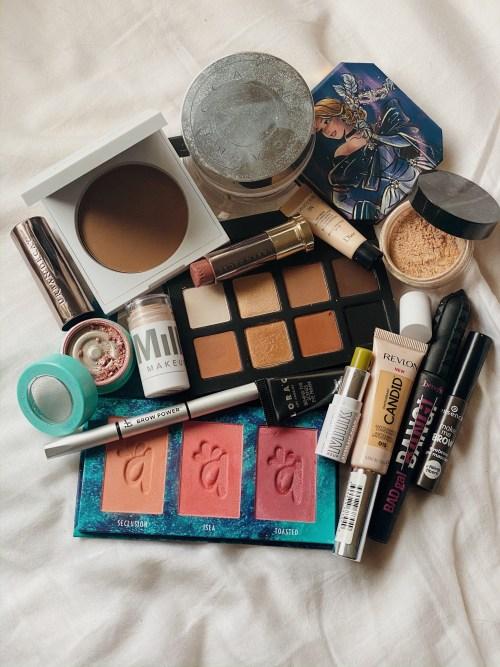 Low Buy x No Buy Tag | Shop Your Stash Makeup Basket