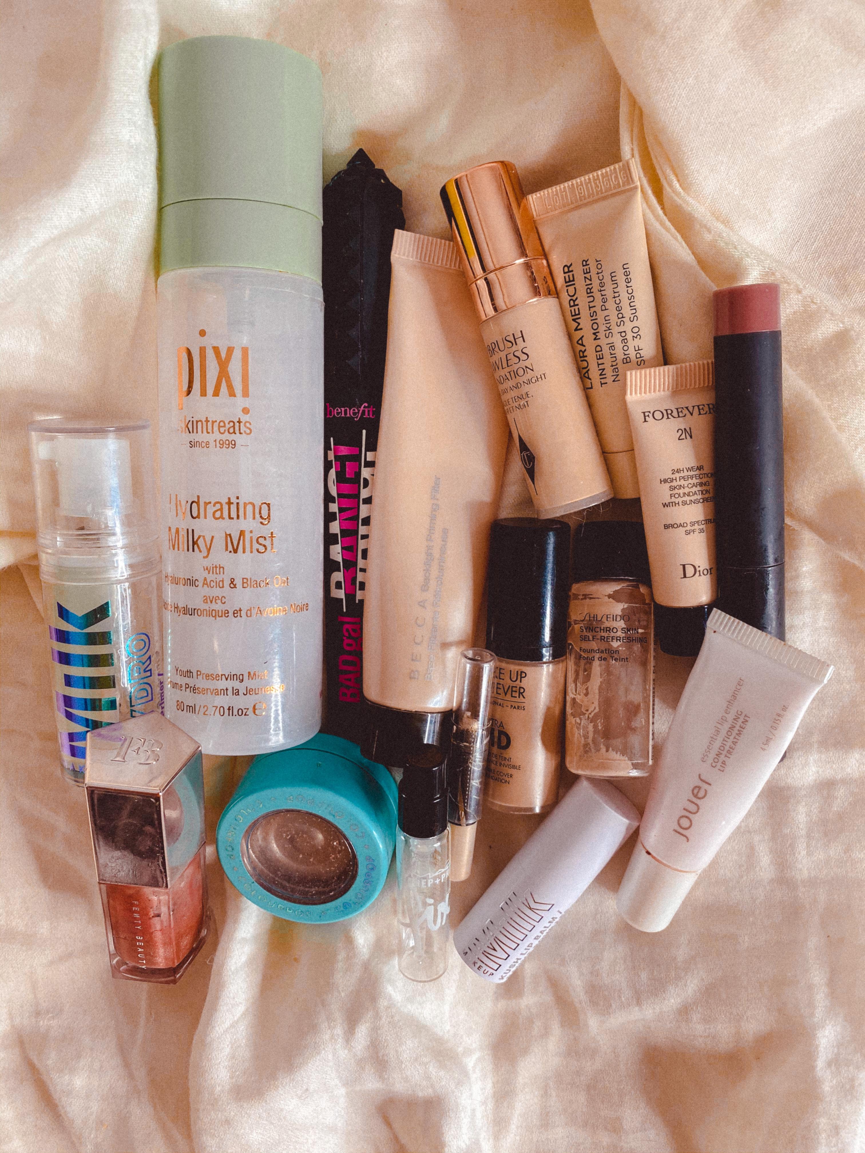 Summer 2020 Makeup Empties Roundup