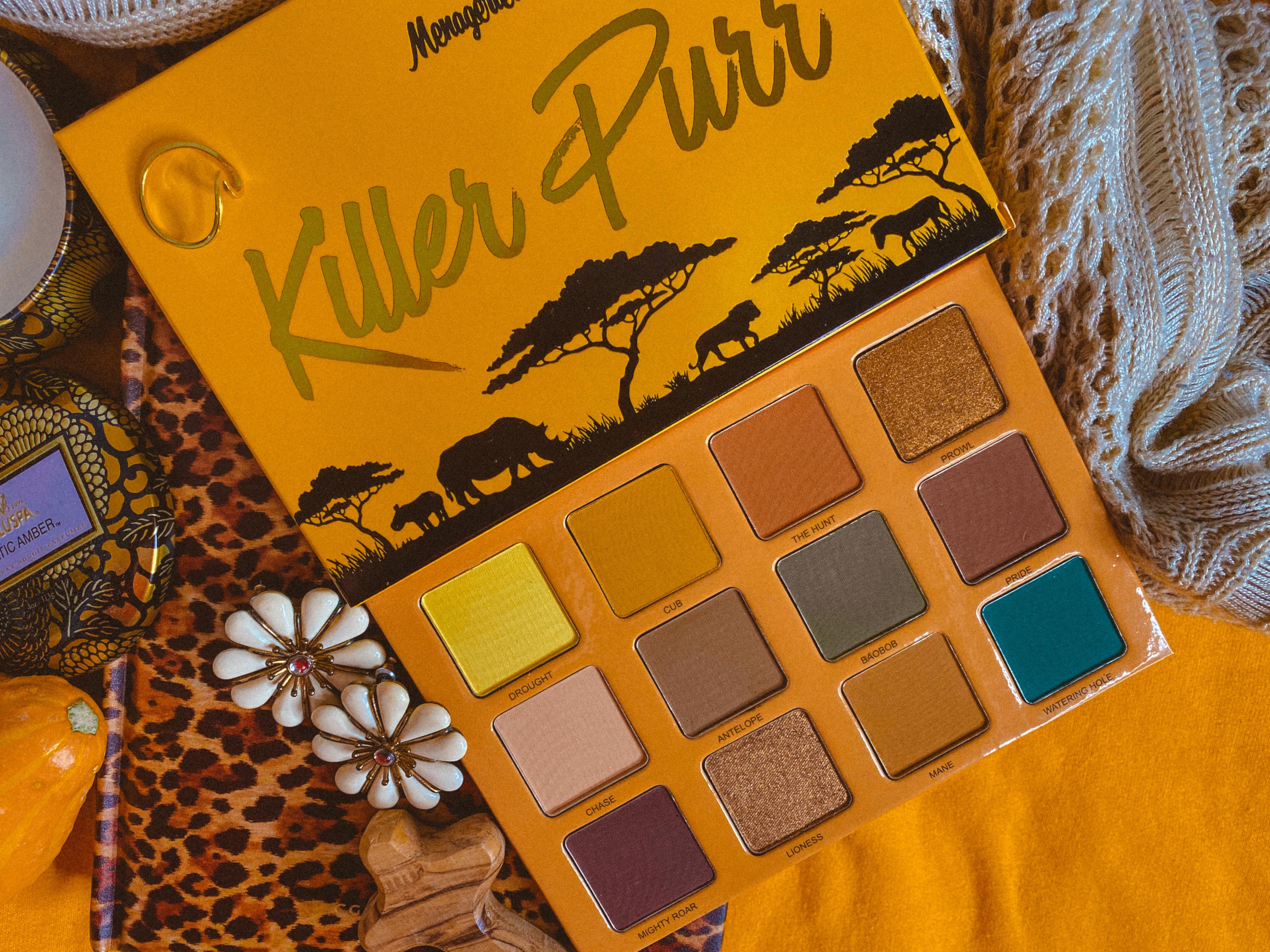 Menagerie Cosmetics Killer Purr Palette