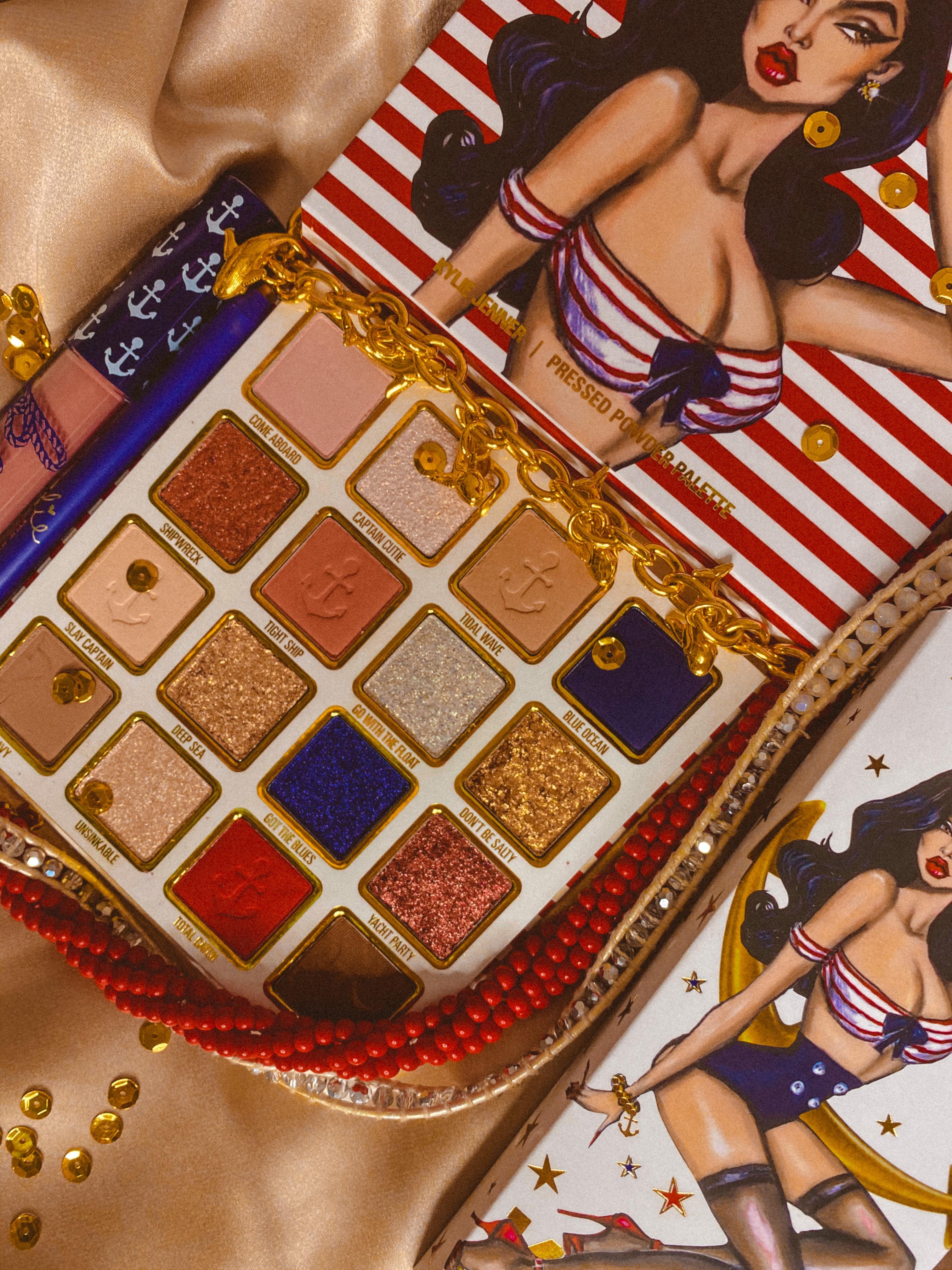 Kylie Cosmetics Sailor Pressed Powder Palette