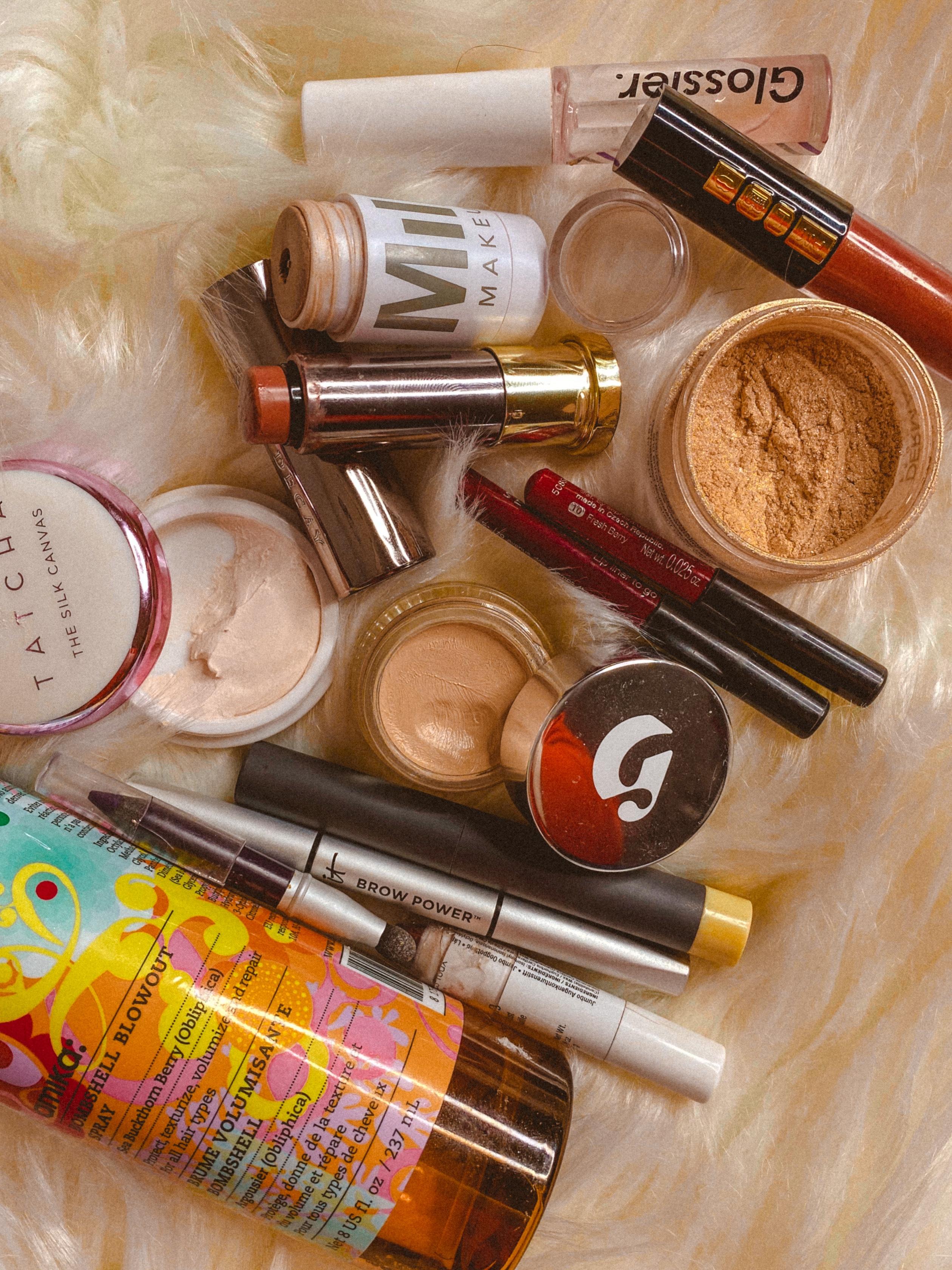 20 in 2020 Project Pan Finale   More Makeup Empties