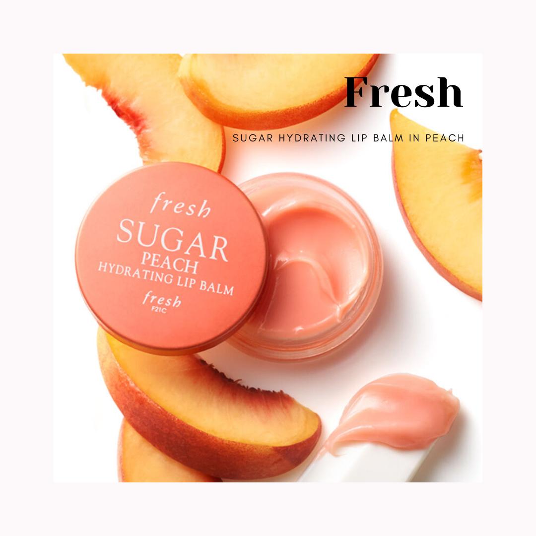 Fresh Sugar Hydrating Lip Balm in Peach