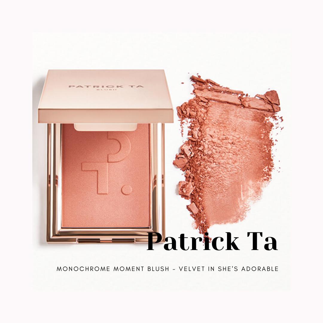Patrick Ta Monochrome Moment Blush - Velvet Blush in She's Adorable